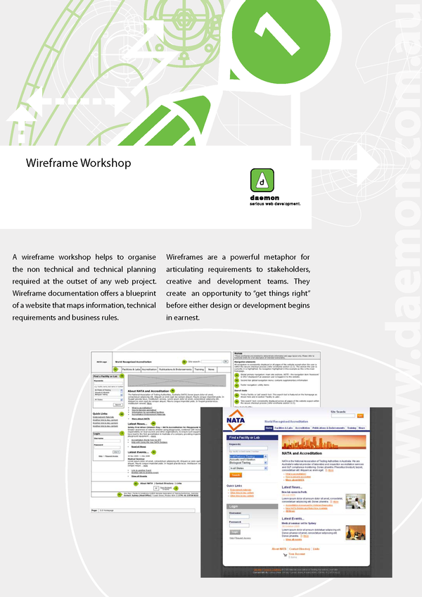 Wireframe Workshop