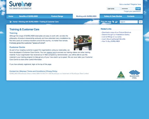 Sureline Training and Customer Care