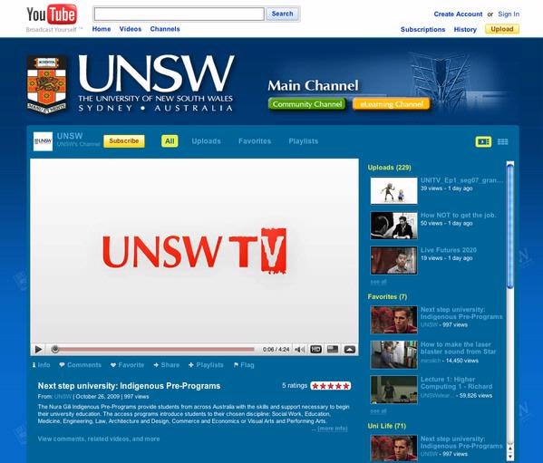 NSW TV - Youtube