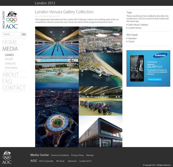 AOC Media Center - London 2012 Games
