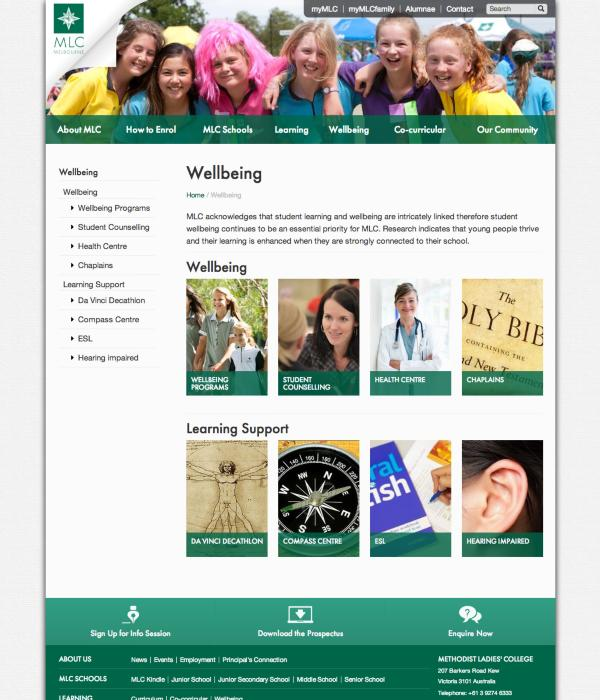 Methodist Ladies' College - Wellbeing