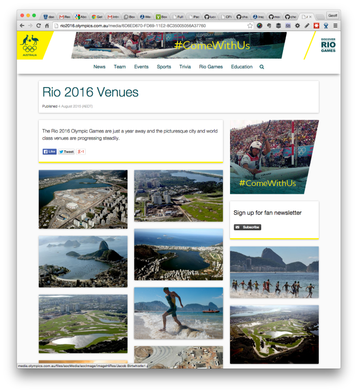 rio: gallery view