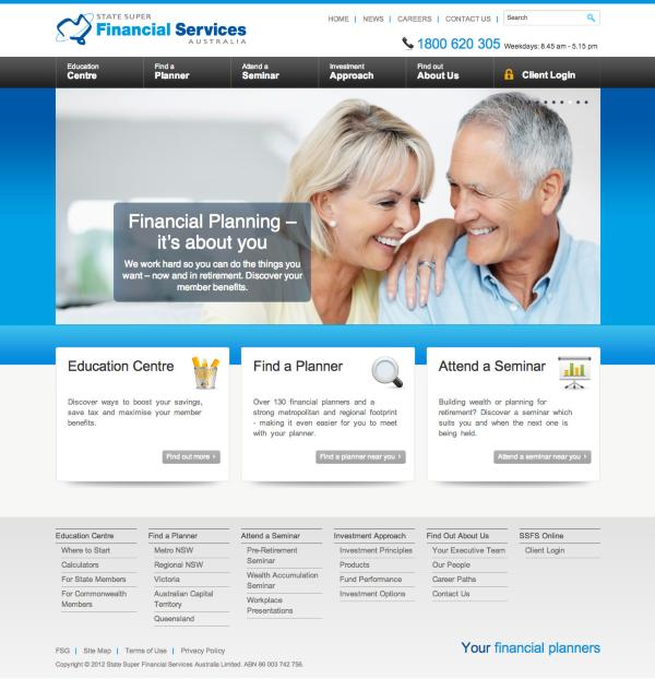 State Super Financial Services - Home